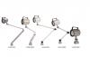 ĐÈN LED CHỐNG THẤM NƯỚC VERTEX  VLED-400L → VLED-500M