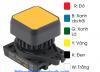 Nút nhấn vuông SQ3PFS-P3GLAL Autonics